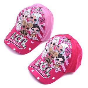 New boneca cartoon chapéu cap cartoon outono verão ao ar livre viseira boné de beisebol infantil lol chapéu Crianças