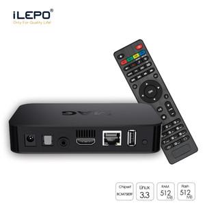 MAG 322W1 Linux 3.3 OS Set üstü Kutusu Dahili WiFi WLAN HEVC H.265 Akıllı TV Media Player