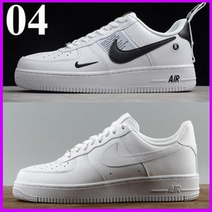 without box New men women fashion airlis designer sneakers af1 shoes all white black forces 1 one low high sport good sale online
