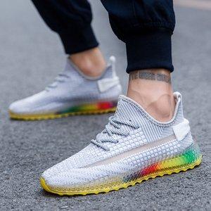 Yeni Stil Patlama Gökkuşağı 4D Erkek Kadın nefes SE Spor Antrenörü spor Sneakers Zapatos Runner İçin Ayakkabı Koşu baskılı