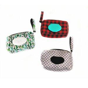 팔찌 매는 레오파드 해바라기 선인장 인쇄 화장지 냅킨 커버 케이스 홈 크리스마스 제품 선물과 네오프렌 조직 상자 홀더