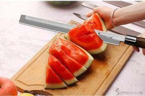 Aço YKC Hot melancia faca inoxidável faca de cozinha japonesa Yanagiba Sashimi Usuba que corta salmões Sushi Petty Chef faca