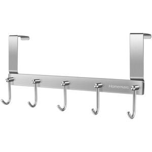 1PC Durable Türhaken Kleiderhaken über die Tür hängende Wand Aufhänger Mantel Schlüssel Handtuch Bag Hooks für Schlafzimmer Haus