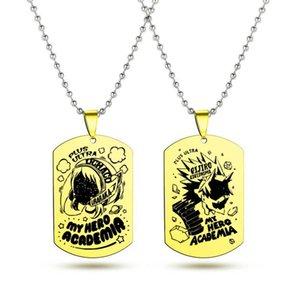 My Hero Academia Anime Halskette Frauen der Männer hängende Halskette für Männer Schmuck Halsband Karikatur-nette Partei-Geschenk