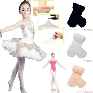 Pudcoco 2019 Velvet Dance Stockings White Kids Girls Tights Nylon Ballet Dance High Elastic Pantyhose for Kids & Adults