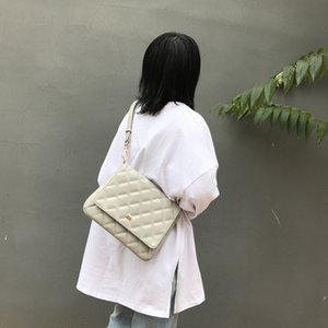 Lucky2019 Will Chic Phenanthrene Bag All-match Oblique Tide Satchel Woman Ins College Student Attend Class;class Begins Texture Single