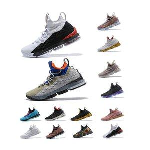 2020 أحذية وصول الرجل مصمم basketballl جديدة الخامس عشر الثلاثي السوداء الرياضية الذهب الأبيض الاحذية يندون جونسون المدربين اكير الأحذية