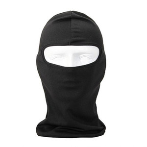 HobbyLane Uherebuy Motorcycle Cycling Sport lycra Balaclava Full Face Mask For Sun UV Protection (Black) Cheap