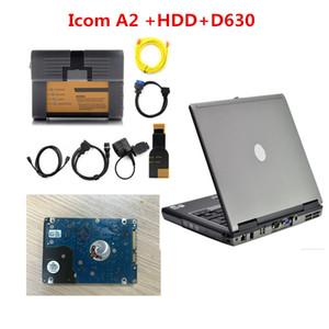 2020 Для BMW ICOM A2 + B + C версии программного обеспечения 2020.01 для BMW ICOM с ноутбука D630 Диагностическое Программирование Режим эксперта Инструмент ICOM A2 HDD