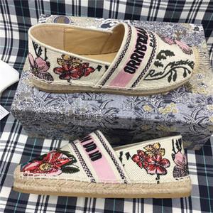 Gucci Fisherman shoes 2020 Offizielle Neuheit Hochwertige 19SS Blumen technische Leinwand B2 B24 weibliche Marke lässig Sandalen B2 Marke Designer-Schuhe Damen