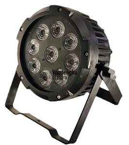 20pcs batteria wireless alimentato RGBWA UV DMX piccola par 64 può led 9psc 18watt 6in1 wireless impermeabile LED par luce
