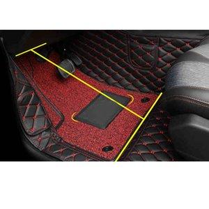 Pelle Lsrtw2017 auto piedi Mat Tappetini per il 5008 2019 2020 Accessori Interni Rug Carpet