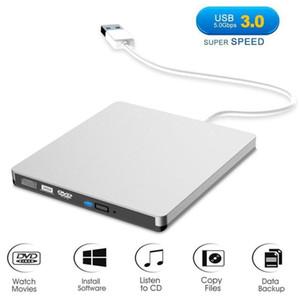 50pcs óptica externa unidad de DVD-RW quemador móvil unidad óptica USB 3.0 Tipo-C Interfaz de Lecturas y Escrituras de doble función TP-001 de DHL