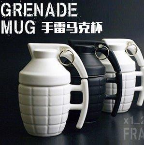 Criativa Grenade Caneca Prático Cup água com tampa presentes engraçados Granada Creativa Taza De Cafe Super Qualidade T8190627