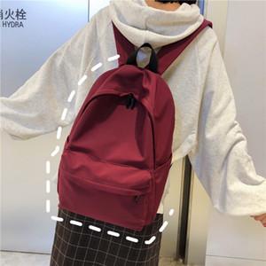 Amazing2019 une fille lumière femme étudiante antique impressionnante Sendai Concise Campus Edition sac à dos deux épaules paquet