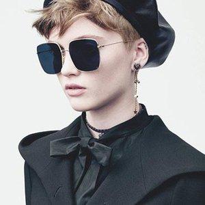 브랜드 뜨거운 여름 장식 파일럿 2019 새로운 여성 판매 광장 스팀 펑크 선글라스 패션 남자 선글라스 랩 디자이너 Stellaire Sungla HSDH