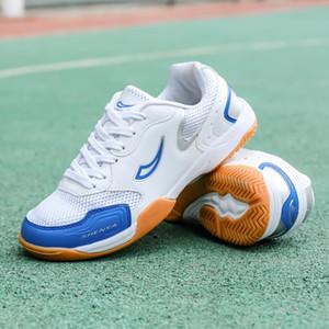 Sport Scarpe da tennis dei bambini professionali Ping pong scarpe fitness leggero scarpe da tennis Ping-pong scarpe piane traspiranti