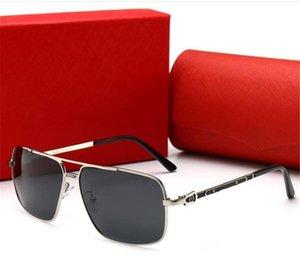 Summer Designer Sunglasses Luxury Sunglasses 0125 Brand Glasses for Men Rectangle Fashion Glasses Driving UV400 High Quality with Box B0761