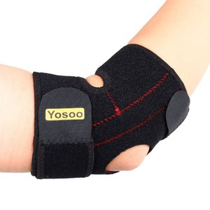 ports & Entertainment Yosoo Adjustable Neoprene Elbow Support Wrap Brace Pad Strong Basketball Sports Elastic Elbow Injury Pain Relie...