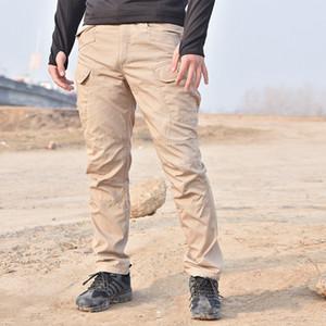Septhydrogen tácticos pantalones militares de carga pantalones de los hombres de la rodilla Pad Army SWAT Airsoft Combat sólido ropa de color Hunter Campo Plancha Woodland