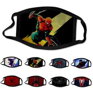 Spider Masquerade enfants enfants superhéros super-héros moitié du visage Masque pour les yeux costumée Masques Cadeaux d'anniversaire en gros
