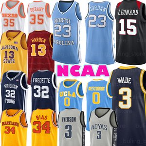 Kawhi NCAA Leonard Jersey Zion 1 Williamson 3 Wade 35 Durant 34 Sapma 13 Harden 0 Westbrook 30 Curry 12 Morant
