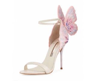 Горячая распродажа-Sophia Webster Webster Evangeline Angel-wing сандалии свадебные туфли-лодочки Женские сандалии