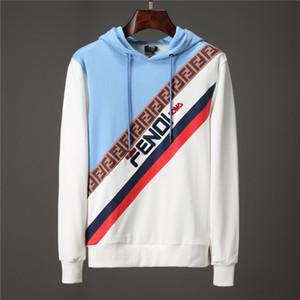 все новые 2019 марка хлопка мужские пуловеры с длинным рукавом полосатый вязаный свитер медуза мужская одежда M-3XL