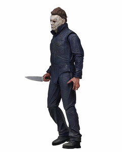 18cm NECA Halloween Ultimate Michael Myers Action Figures BJD Model Toys