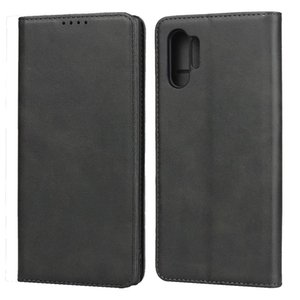 Tarjeta carpeta del cuero genuino del caso para Samsung Galaxy S20 S10 Ultra Plus S9 Nota 10plus 9 A71 A51 A90 A70 A50 A40 A30 A20E A20S A50S A30S