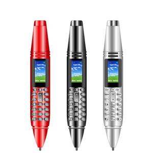 """AK007 0.96"""" Pen Shaped 2G CellPhone Dual SIM Card GSM Mobile Phone BT V3.0 Dialer Magic Voice MP3 FM Voice Recorder"""