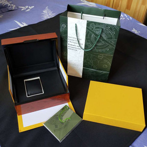 Sıcak satış Yükseltme sürümü Kutu kağıtları Ahşap orijinal kutu Kraliyet meşe kutuları hediye kutusu erkek izle kutuları kol saati erkek KUTULARI izle