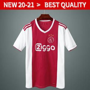 18 19 Ajax-Retro-Fußballjerseys # 21 DE JONG weg ajax Hemd 90 95 # 10 # TADIC 4 DE LIGT # 22 ZIYECH Männer Fußball-Uniformen ajax