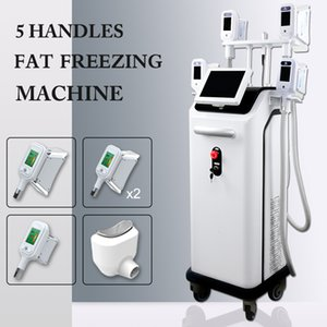 cryolipolysis fat freeze machine 5 handles beauty salon equipment double chin removal 3d cryolipolysis fat weight loss Machine