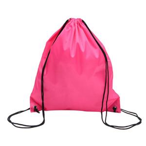 35*40cm Shoulders Bag Storage Waterproof Travel Shoes Bag Drawstring Backpack for Baby Kids Toy Lingerie Makeup Nylon F-B 2020