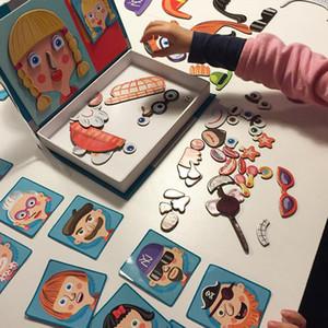 19 * 26 * 4cm puzzles papier pour les animaux enfants et véhicules puzzles de clown pour enfants jouets de puzzle