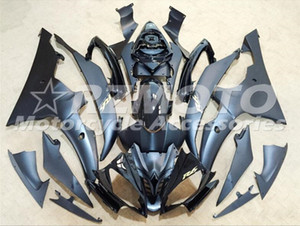 New ABS Injection Mold motorcycle Fairings Kits Fit For YAMAHA YZF-R6-600 2008-2016 08 09 10 11 12 13 14 15 16 bodywork set custom black