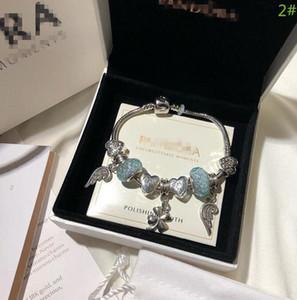 High Quality Luxury Designer Stainless Steel Jewelry Bracelets Women Men Bracelets Pandora Hard Bracelet Jewelry