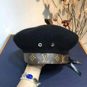 chapéu de papai luxo cartola polo, dos homens e chapéus das mulheres, lã ajustável boina moda curva esporte, o mais recente de alta qualidade quente