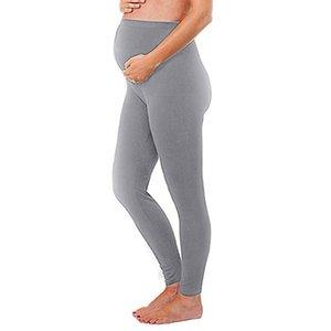 2020 neue Frauen Clother Frauen Schwangerschafts-Gamaschen Nahtlose Feste Hosen Stretch Schwangerschaft Hosen Mode 20 *