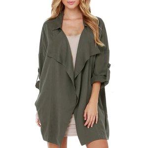 Women top coat 2020 Autumn Winter Wild Slim Long Cardigan Women Clothes Sweater Coats Long Sleeve Coat Windbreaker