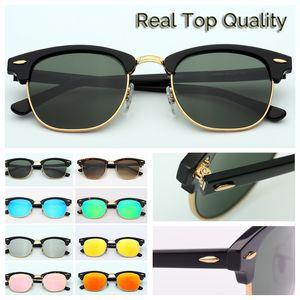 Солнцезащитные очки высочайшего качества Master Мужчины солнцезащитные очки 3016 женщин Открытый ретро SunGlass Gafas-де-Сол очки