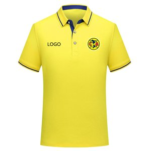 2019 LIGA MX club america Poloshirt Fußball Trikot Herren 2019 2020 club america Männer Fußball Poloshirt Fußballtrikots