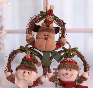 Boules Boules de Noël Arbre de Noël Hanging Pendentif Ornement de guirlande de Noël en bois Décoration Maison Party Decor Cadeaux de vacances