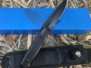 Yeni Kelebek 140BK kaplan av taktikleri düz bıçak Pocket Knife Açık Survival Kamp Bıçak orijinal kutusu Hediye Bıçaklar bm940 943