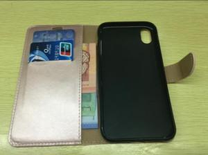 Portefeuille en cuir téléphone cas antichoc couverture pour Samsung Galaxy Mega 5.8 I9150 I9152 Flip Cover Slot Carte Stand magnétique Fundas