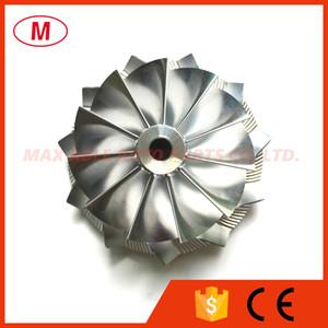 RHF55 52,56 / 68,00 milímetros 11 + 0 lâminas Atacante High Performance Turbo Billet rodas Compressor / Aluminum da roda 2618 / Fresagem para turbocharger CHRA