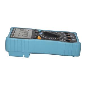 Freeshipping NCV Digital Lcd Multímetro Ac / Dc Voltímetro Amperímetro Auto / Manual Faixa Diode Resistence Frequency Temp Tester