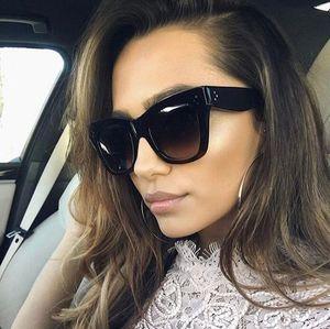 Emosnia do olho de gato óculos de sol Modis Vintage Feminino 2019 Mulheres Leopard óculos de sol UV400