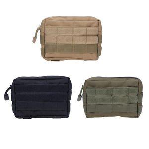 Sub-package EDC Outdoor Molle Camouflage tático bolso Commuter Pacote Acessórios militares Mudar Ferramenta Bag